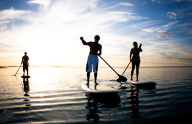 SUP (Stand Up Paddle) na Praia do Rosa