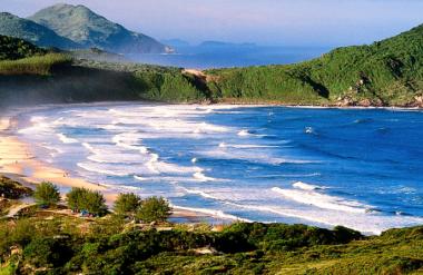 As mais belas imagens da Praia do Rosa